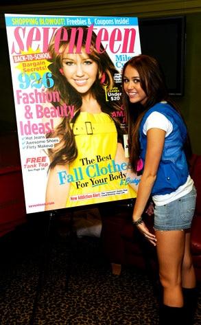 Miley Cyrus, Seventeen Magazine