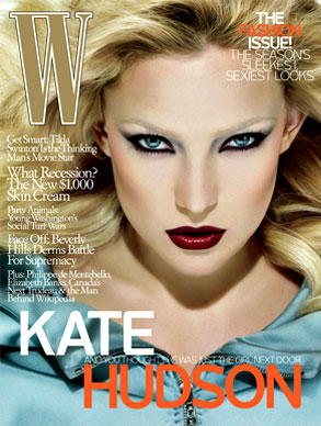 Kate Hudson, W Magazine