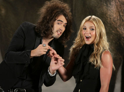 Russell Brand, Britney Spears