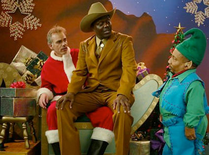 Bad Santa, Billy Bob Thorton, Bernie Mac