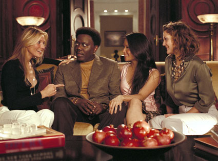 Charlie's Angels, Full Throttle, Liu, Barrymore, Bernie Mac, Cameron Diaz