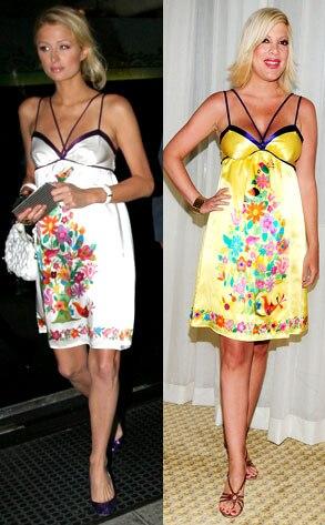 Paris Hilton, Tori Spelling