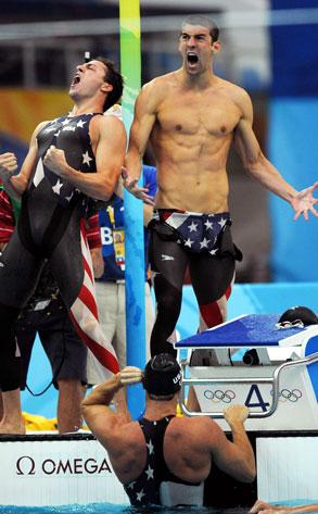 Michael Phelps, Garret Weber-Gale