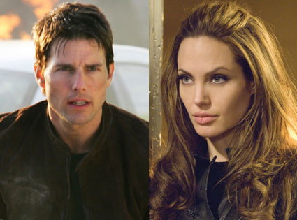 Tom Cruise, Mission Impossible 3, Angelina Jolie, Wanted