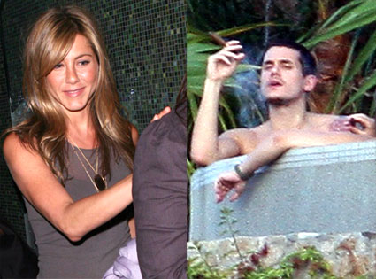 John Mayer, Jennifer Aniston