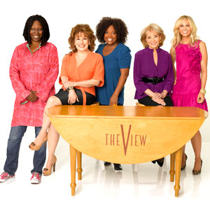 The View Cast: Barbara Walters, Whoopi Goldberg, Sherri Shepherd, Elisabeth Hasselbeck, Joy Behar