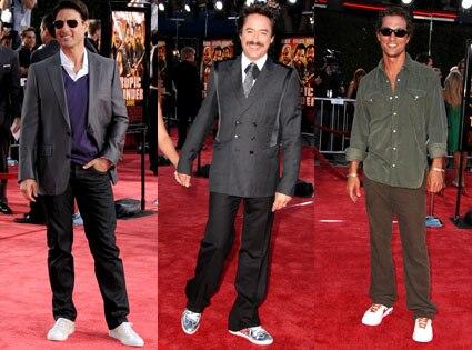 Tom Cruise, Robert Downey Jr, Matthew McConaughey