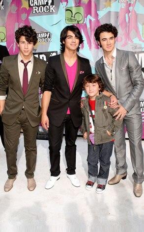 Nick Jonas, Joe Jonas, Kevin Jonas, Frankie Jonas