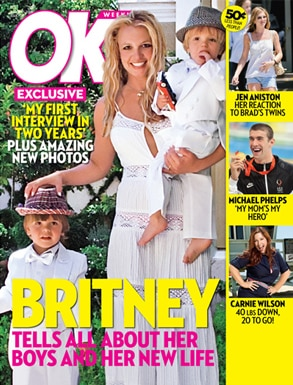 Britney Spears OK! Cover