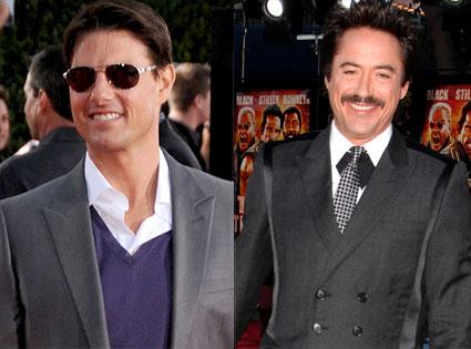 Tom Cruise, Robert Downey Jr