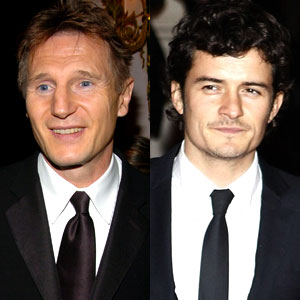 Liam Neeson, Orlando Bloom