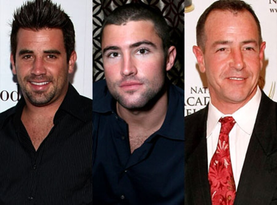 Jason Wahler, Brody Jenner, Michael Lohan