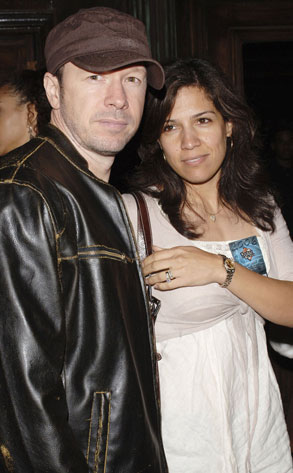 Donnie Wahlberg, Kim Fey