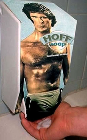 David Hasselhoff soap dispenser