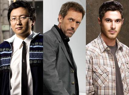 Masi Oka, Hugh Laurie, Dave Annable