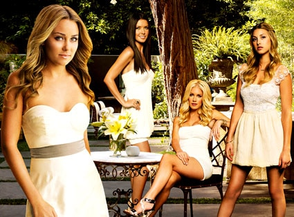 Lauren Conrad, Audrina Patridge, Whitney Port, Heidi Montag, The Hills
