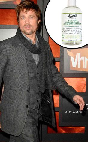 Brad Pitt, Kiehl's