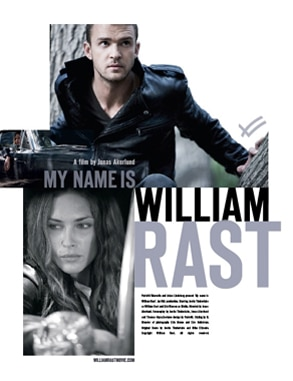 Justin Timberlake, Erin Wasson , William Rast campaign