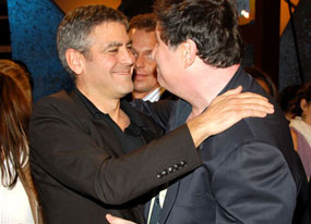 George Clooney, Richard Kind