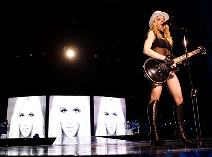 Madonna, Britney Spears, Sticky and Sweet Tour
