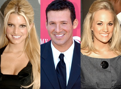Jessica Simpson, Tony Romo, Carrie Underwood