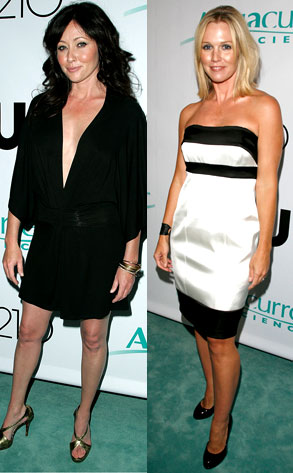 Shannen Doherty, Jennie Garth