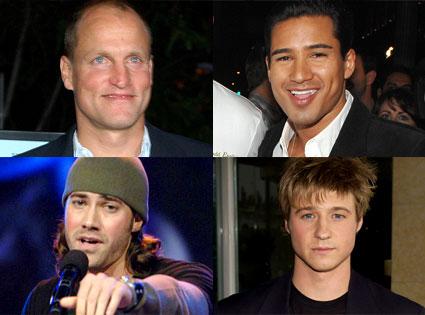 Woody Harrelson, Mario Lopez, Ace Young, Benjamin McKenzie