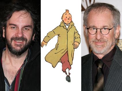 Peter Jackson, Tin-Tin, Steven Spielberg