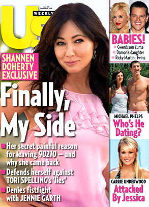 Shannen Doherty, Us Weekly