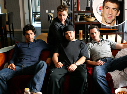 Michael Phelps, Entourage
