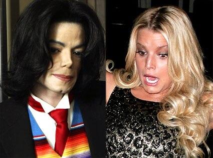 Michael Jackson, Jessica Simpson