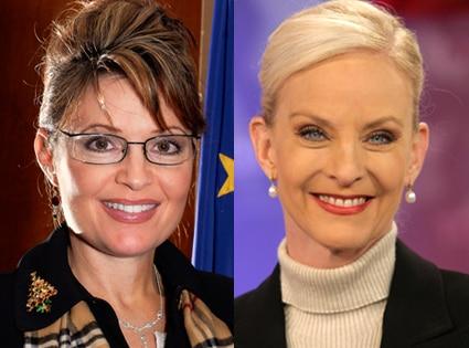 Sarah Palin, Cindy McCain