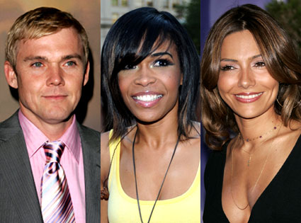 Ricky Schroder, Michelle Williams, Vanessa Marcil