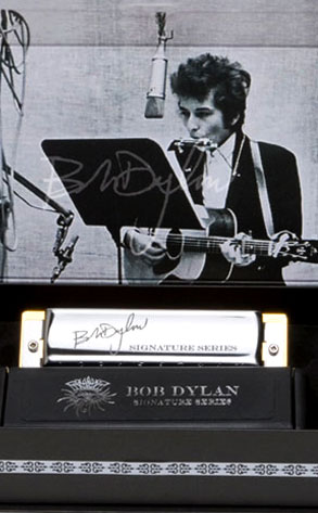 Bob Dylan signature harmonica