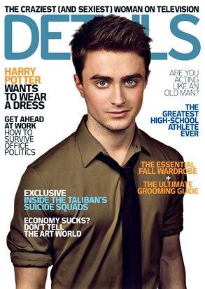 Daniel Radcliffe, Details Magazine