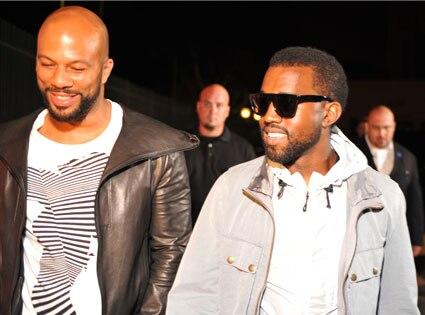 Common, Kanye West