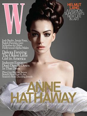 Anne Hathaway, W Magazine