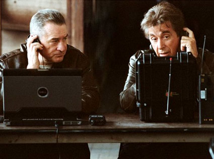 Robert DeNiro, Al Pacino, Righteous Kill