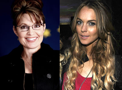 Sarah Palin, Lindsay Lohan