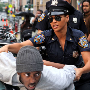Image result for Beyonce as a cop