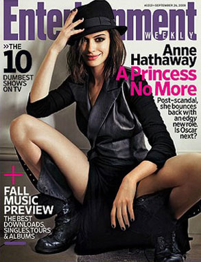 Anne Hathaway, Entertainment Weekly