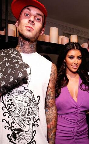 Travis Barker, Kim Kardashian