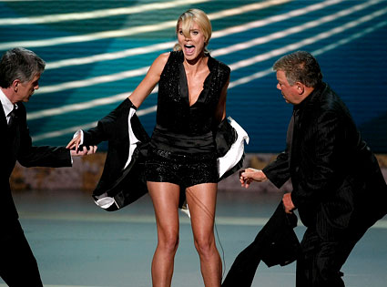 Heidi Klum, William Shatner, Tom Bergeron
