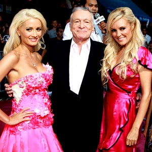 Holly Madison, Hugh Hefner, Bridget Marquardt