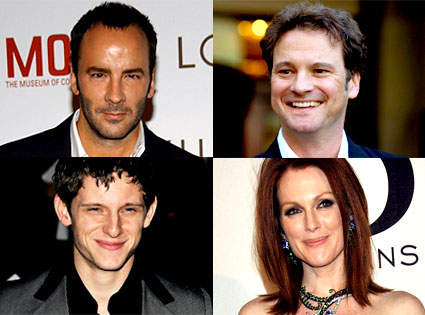 Tom Ford, Julianne Moore, Colin Firth, Jamie Bell