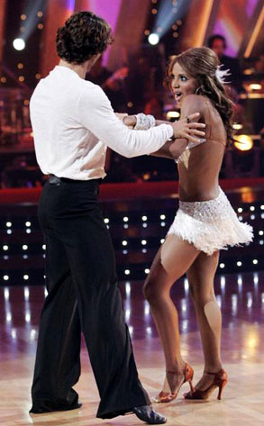 Toni Braxton, Alec Mazo, Dancing with the Stars