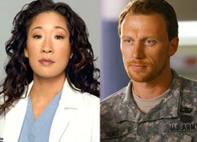 Sandra Oh, Kevin McKidd, Grey's Anatomy