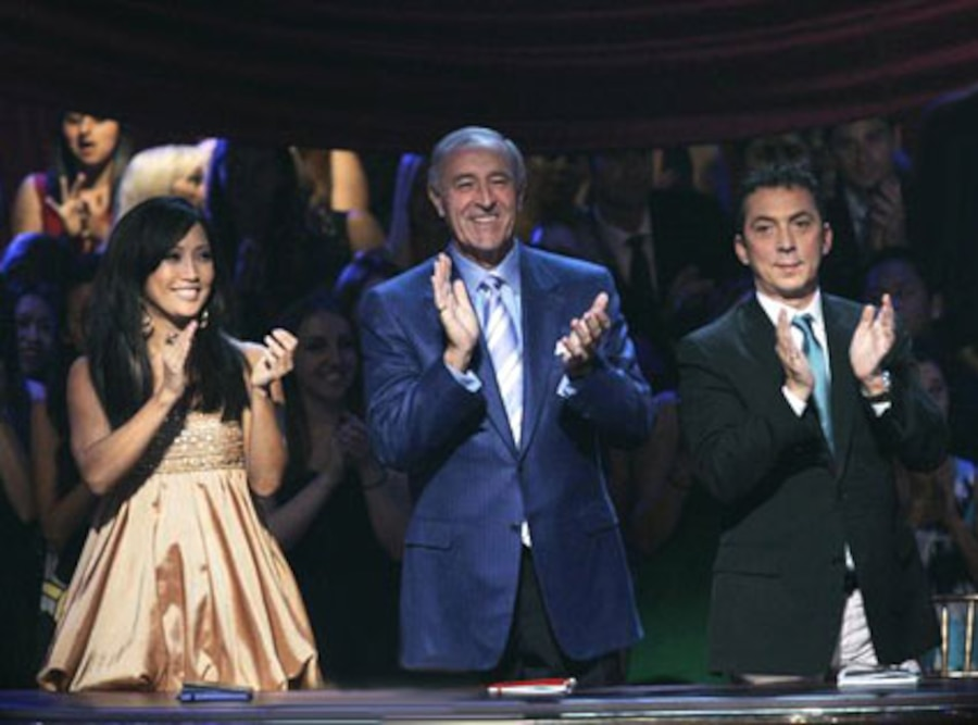 Dancing with the Stars judges: Carrie Ann Inaba, Len Goodman, Bruno Tonioli