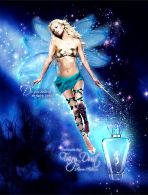 Paris Hilton Fairy Dust Ad