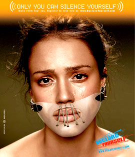 Jessica Alba Declare Yourself ad